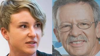 An einem Podium haben Irène Kälin (Grüne) und Martin Killias (SP) kürzlich die Situation von Arbeitnehmern über 50 diskutiert.