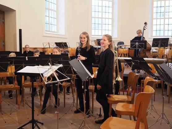 Auch die Junioren der Musikschule Brugg sonnten sich im Beifall des Publikums