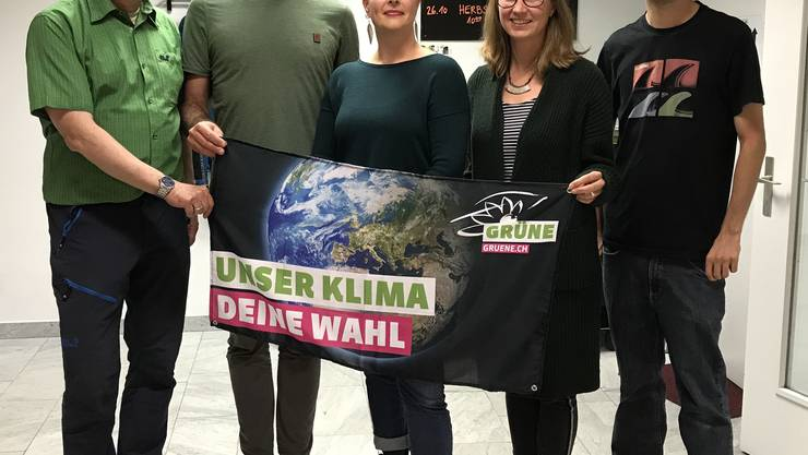(vl): Felix Wettstein, Raphael Schär-Sommer, Myriam Frey Schär, Anna Engeler und Jonas Ammann