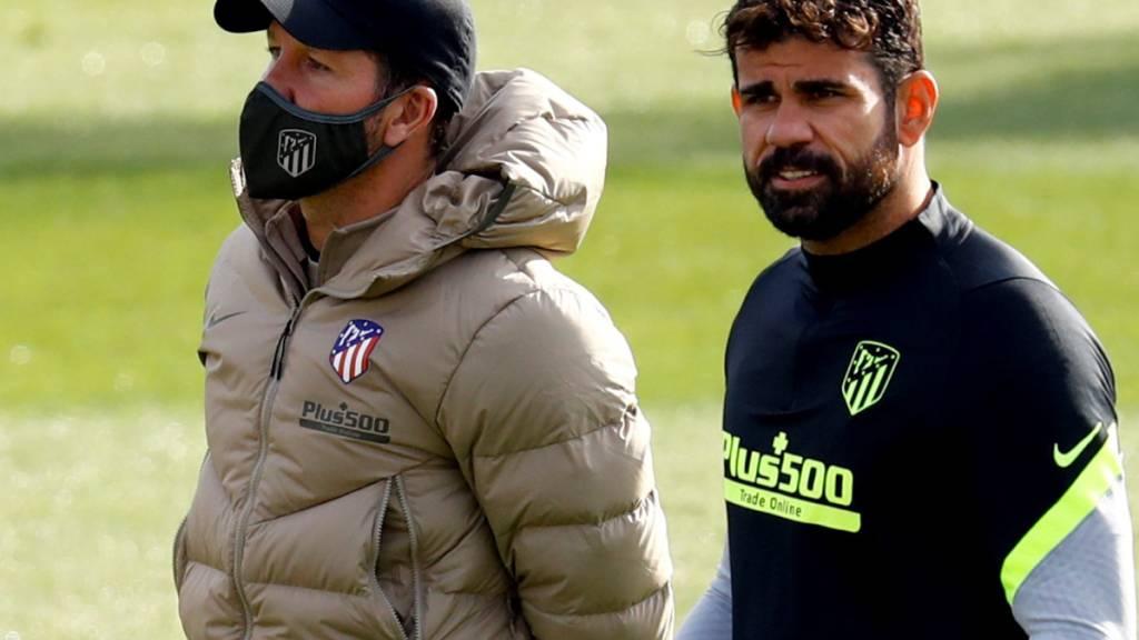Atlético Madrid und Diego Costa lösten Vertrag auf