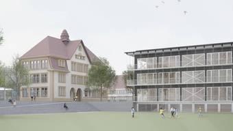 Die Finanzierung des Projekts Schulcampus Dorf wäre der grösste Baukredit in der Geschichte Binningnens.