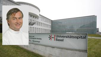 Christian De Geyter, Chefarzt Reproduktionsmedizin des Unispitals Basel, steht in der Kritik.