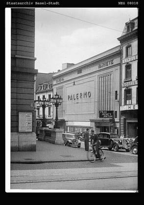 Das Kino Palermo in der Blütezeit: Es ist nur eines von sieben Kinos, die 1927 und 1928 eröffnen.