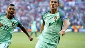 Mit zwei Toren rettet Cristiano Ronaldo Portugal gegen Ungarn (3:3) immerhin noch einen Punkt und damit die Qualifikation für die EM-Achtelfinals