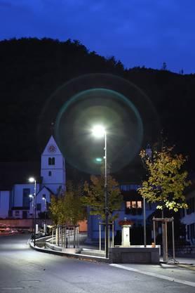 Die Umstellung auf LED-Lampenhat in Egerkingen bereits stattgefunden.