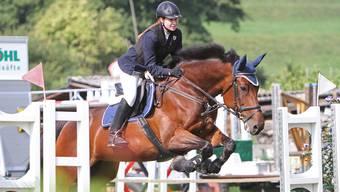 Unzertrennlich: Sabrina di Lorenzo und ihr Pferd IIrina du Perchet holen sich souverän den diesjährigen Juniorencup.