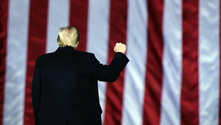 Ihm droht ein zweites Impeachment: Noch-Präsident Donald Trump.