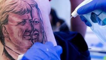 Tattoo des künftigen Königspaares der Niederlande