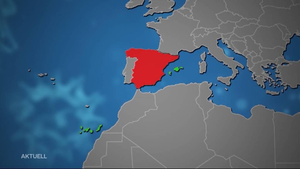 Spanisches Festland kommt auf Corona-Risikoliste