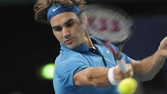 Jubiläumssieg für Roger Federer