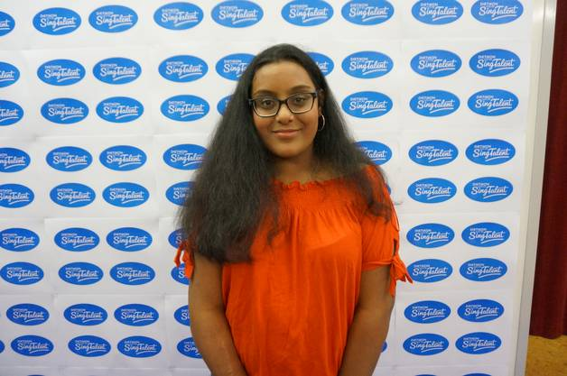 Die 14-jährige Mathula Manoharan brachte das Lied «Stitches» von Shawn Mendes mit.