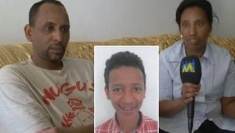 Die Eltern machen sich Sorgen um den vermissten Jungen Emilak Mengis.