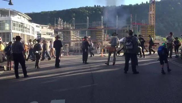 Banntag in Liestal: Ausmarsch aus dem Stedtli