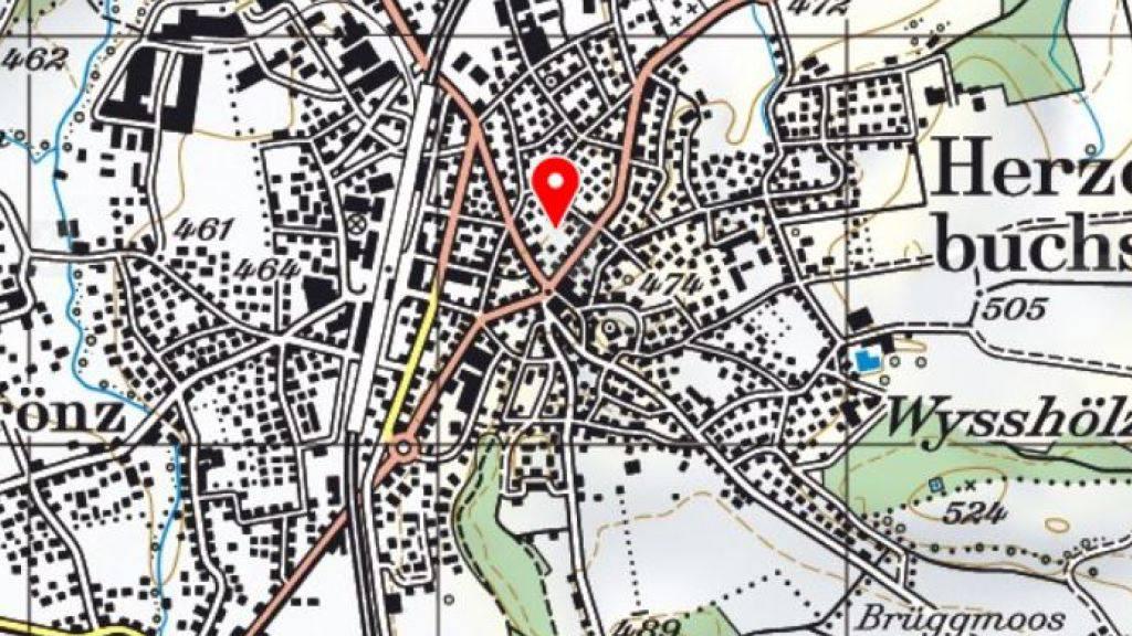 Der Unfall, bei dem die E-Bike-Fahrerin schwer verletzt wurde, ereignete sich in der Nähe des Bahnhofs von Herzogenbuchsee.