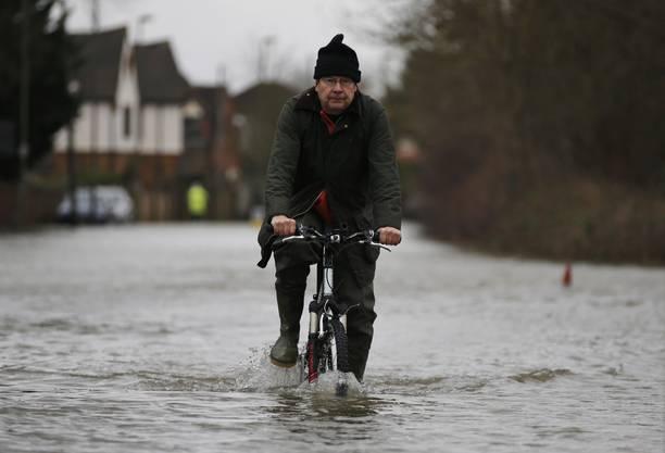 Hochwasser in Grossbritannien
