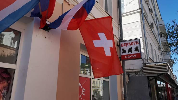 Hier findet die Partie Schweiz gegen Costa Rica statt.