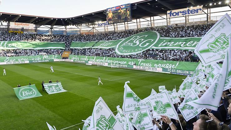 Am 15. November für einmal wieder Heimstätte der Nationalmannschaft: die Arena des FC St. Gallen