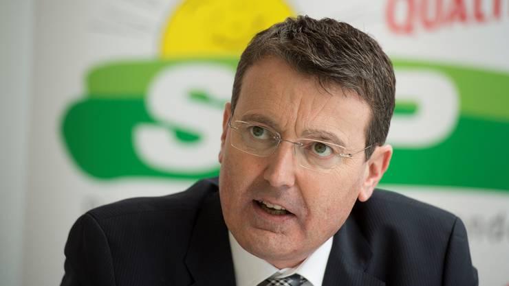 Thomas Burgherr präsidiert die Aargauer SVP.