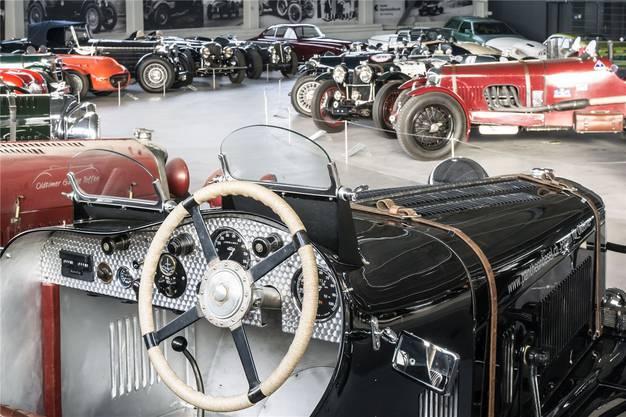 Insgesamt 35 «Specials» umfasst die Ausstellung im Muttenzer Oldtimer-Museum.
