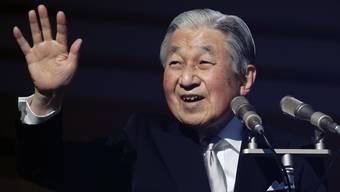 Japans Kaiser Akihito hat am Mittwoch zum letzten Mal eine Neujahrsansprache gehalten - im April will er abdanken.