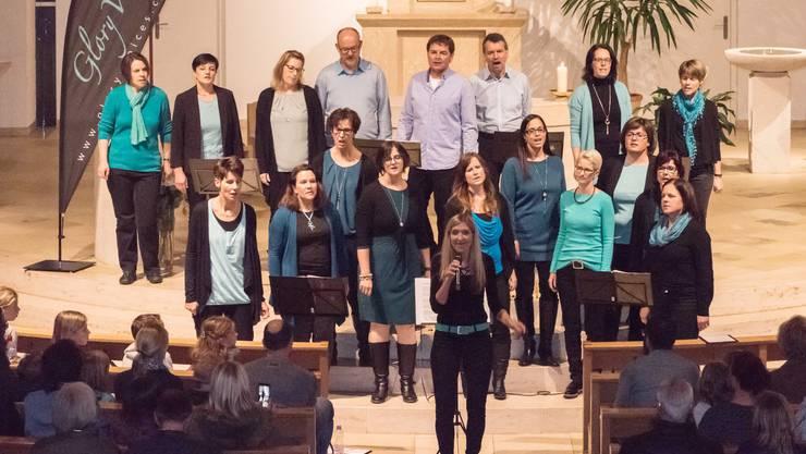 Konzert Glory Voices in der Kirche Kappel SO