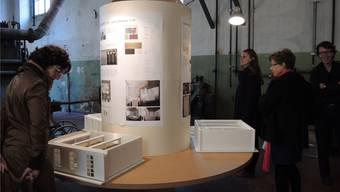 Studierende aus Luzern entwerfen Loft für Hiag Immobilien in Windisch