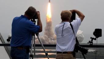 Space Shuttle «Atlantis» startet zum letzten Flug ins All