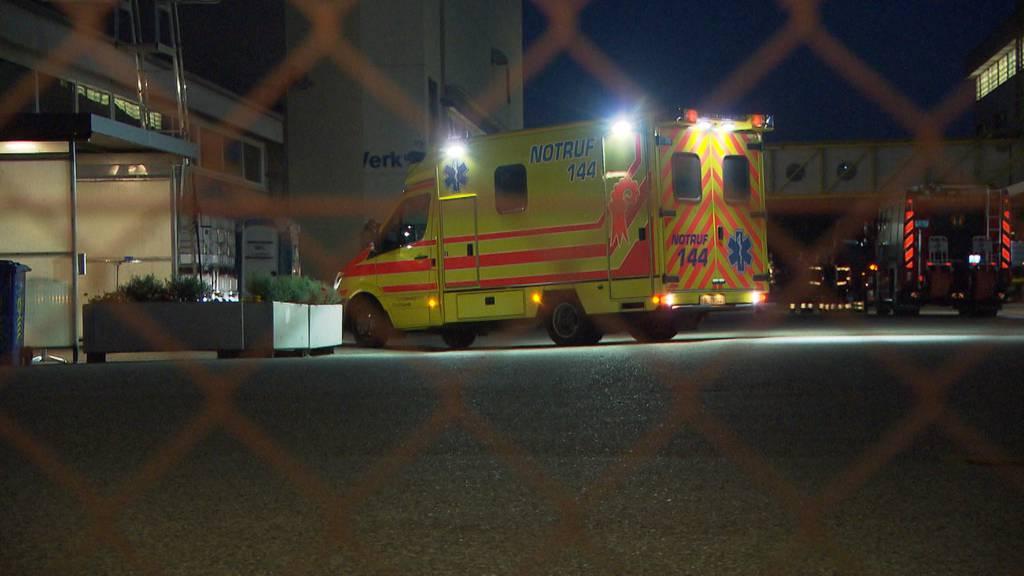 Chemieunfall in Frenkendorf (BL): Elf Personen durch Sulfaminsäure verletzt