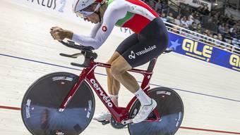 Claudio Imhof fuhr an einem Spitzenplatz vorbei