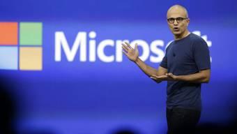 Microsoft-Chef Satya Nadella. (Archiv)