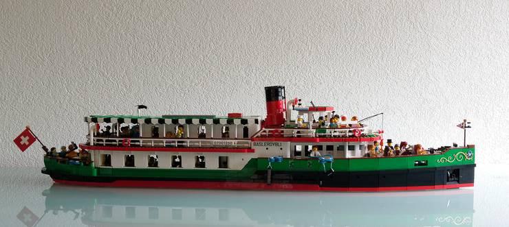 Baslerdybli aus Lego