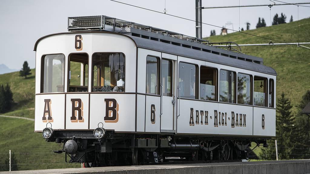 Die neuen Rigibahn-Züge sind eine Hommage an Triebwagen Nr. 6