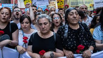 Protest auf dem Istanbuler Taksim-Platz im Mai 2019 zum Jahrestag des Gezi-Park-Konfliktes 2013.