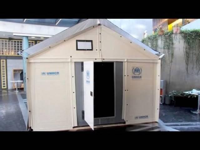 Ikea versorgt syrische Flüchtlingscamps mit Fertighäusern