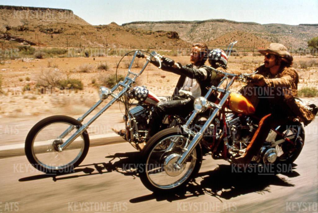 Ein Leben lang Easy Rider (© Keystone)