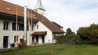 Blick ins Gemeindehaus Buchegg
