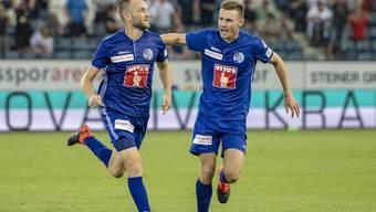 Christian Schneuwly erlöste den FC Luzern in der 93. Minute mit dem 1:0