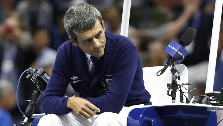 Seit dem Final schwieg Carlos Ramos.