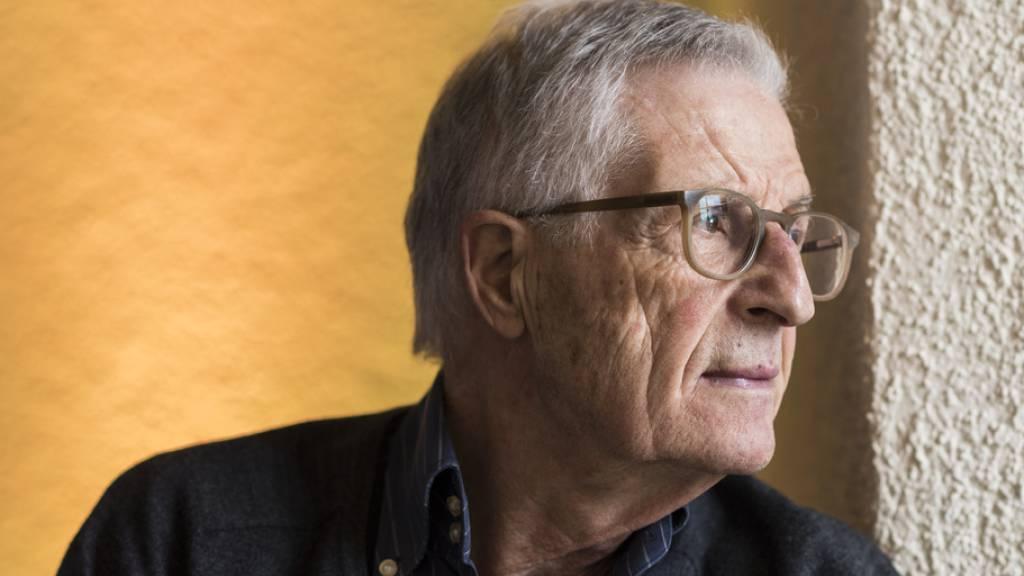 Bekannt ist der Zürcher Regisseur Rolf Lyssy unter anderem für seinen Kinohit «Die Schweizermacher». Am Montag wurde er am Zurich Film Festival für sein Lebenswerk ausgezeichnet; gleichzeitig feiert sein neuer Film «Eden für jeden» Weltpremiere. (Archivbild)