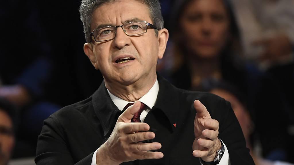 Bei der TV-Debatte überzeugte der französische Präsidentschaftskandidat Jean-Luc Mélenchon die Zuschauer am meisten.