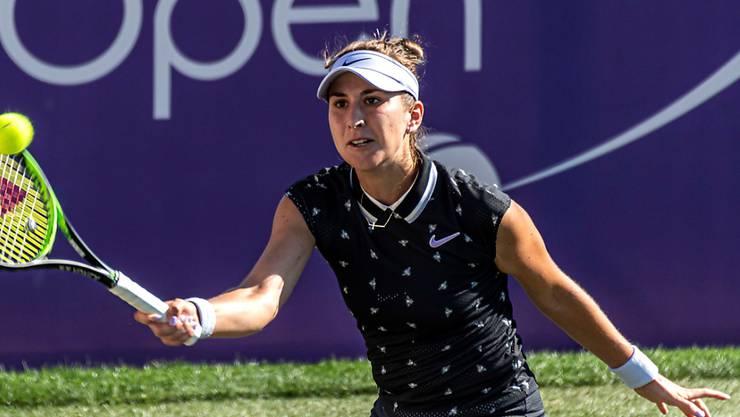 Belinda Bencic volliert auf Mallorca