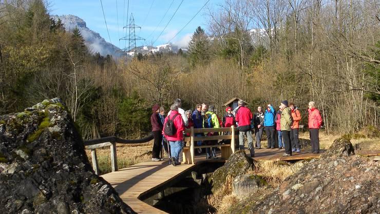 Informationen über den Bergsturz
