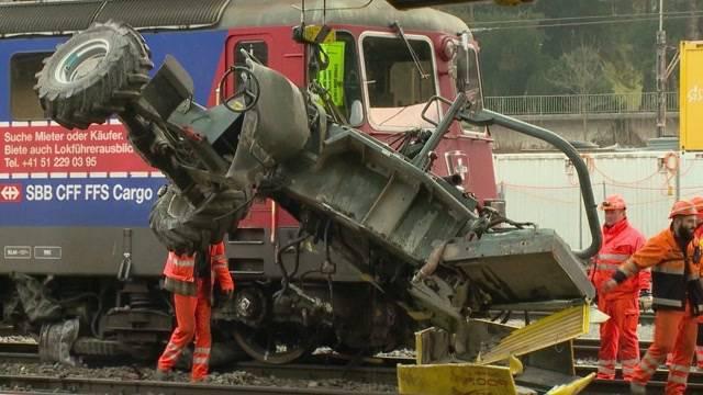 Ein Toter bei Bahnunfall in Winterthur