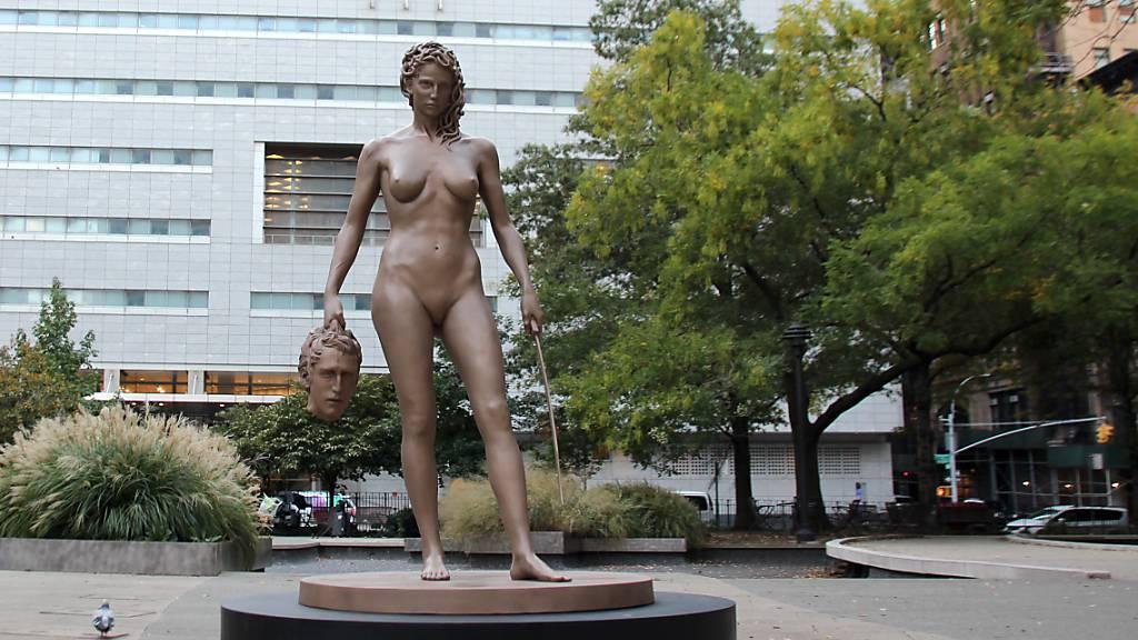 Zwei neue Frauen-Statuen sorgen in New York für Wirbel