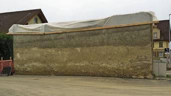 Die ominöse Mauer in Sarmenstorf.