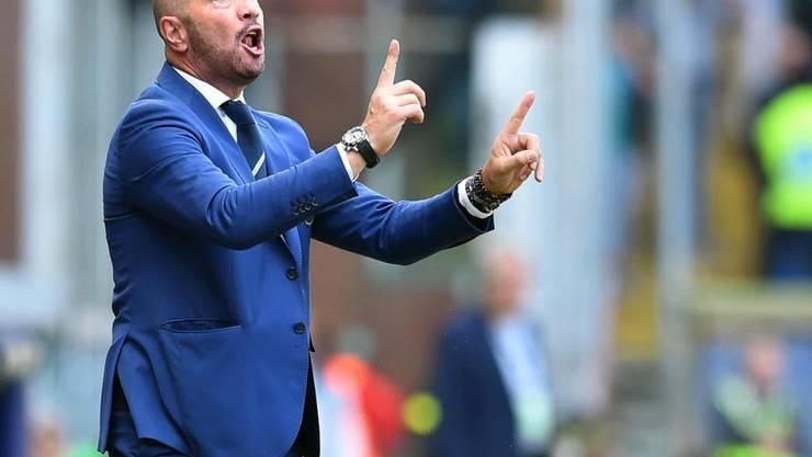 Walter Zenga darf Sampdoria nicht mehr von der Seitenlinie aus dirigieren