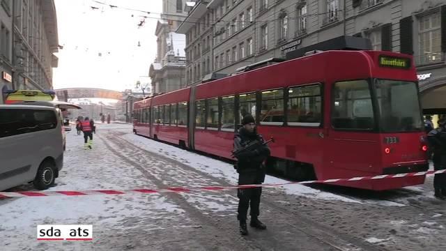 Bern: Grossräumige Sperrung nach Bombendrohung aufgehoben
