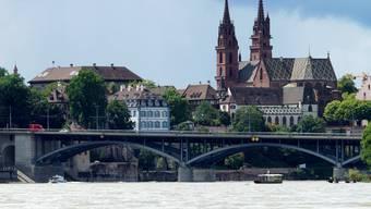 Wasserstand zu hoch für Rheinschwimmen
