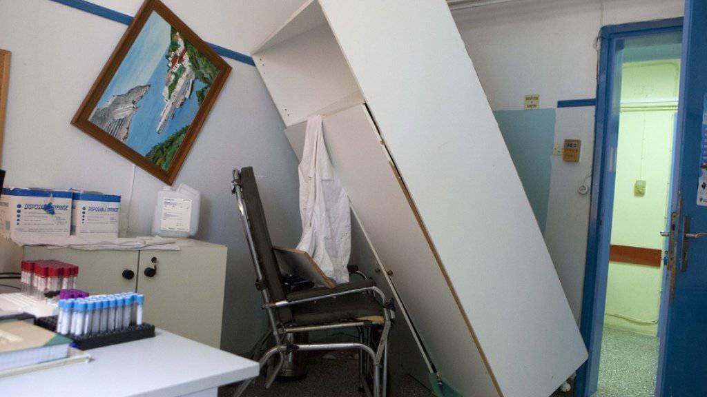 Lefkada wird immer wieder von Erdbeben heimgesucht. Beim jüngsten Erdstoss starben zwei Menschen, zudem entstand Sachschaden. (Archiv)