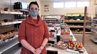 Nicole Membrez wird in Reuenthal die Kunden ab Januar in «Nicoles Lädeli» empfangen.